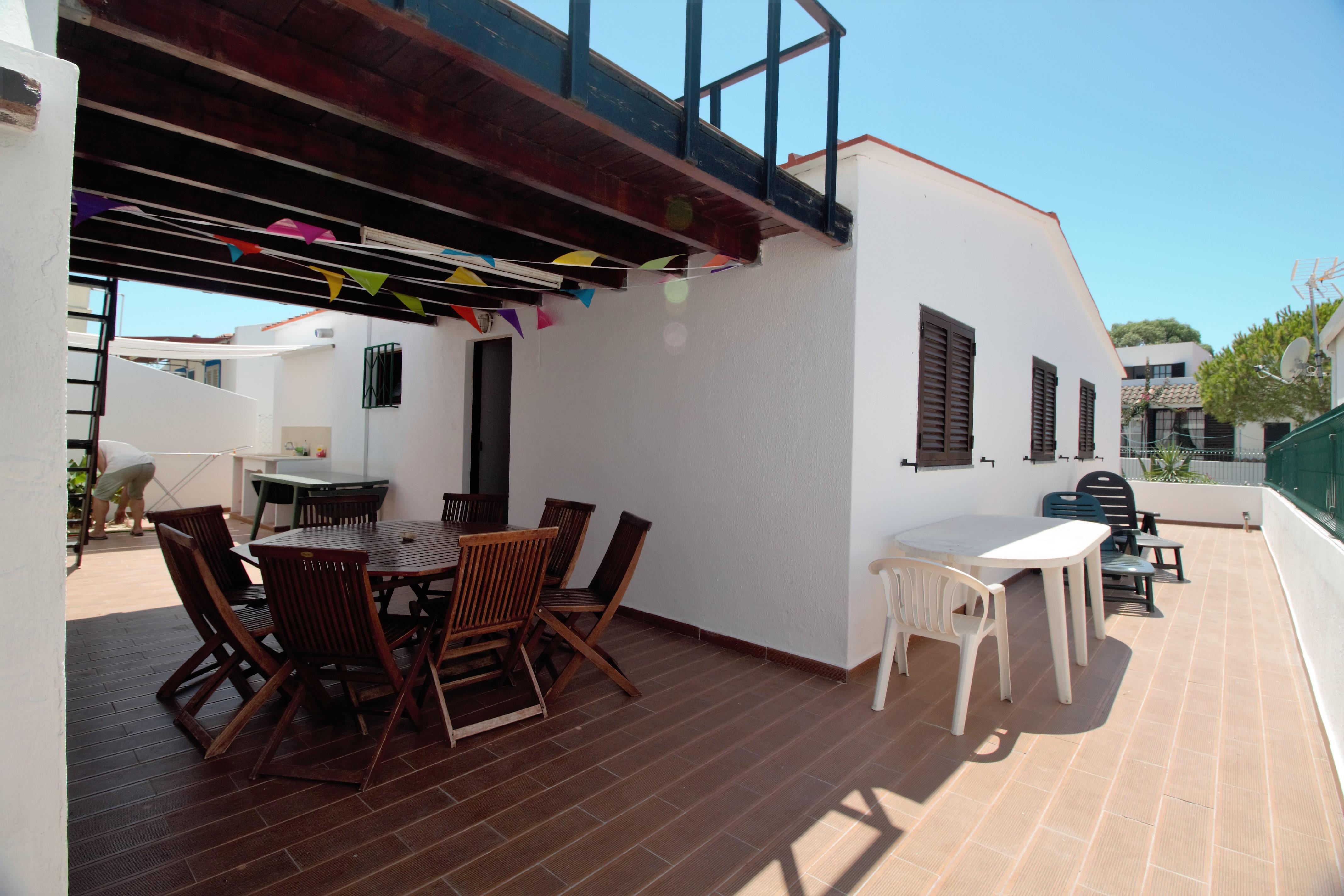 Holiday apartments and villas for rent, Moradia no Algarve com vista mar 10 mint da praia (a pé) in Olhão, Portugal Algarve, REF_IMG_6691_6692