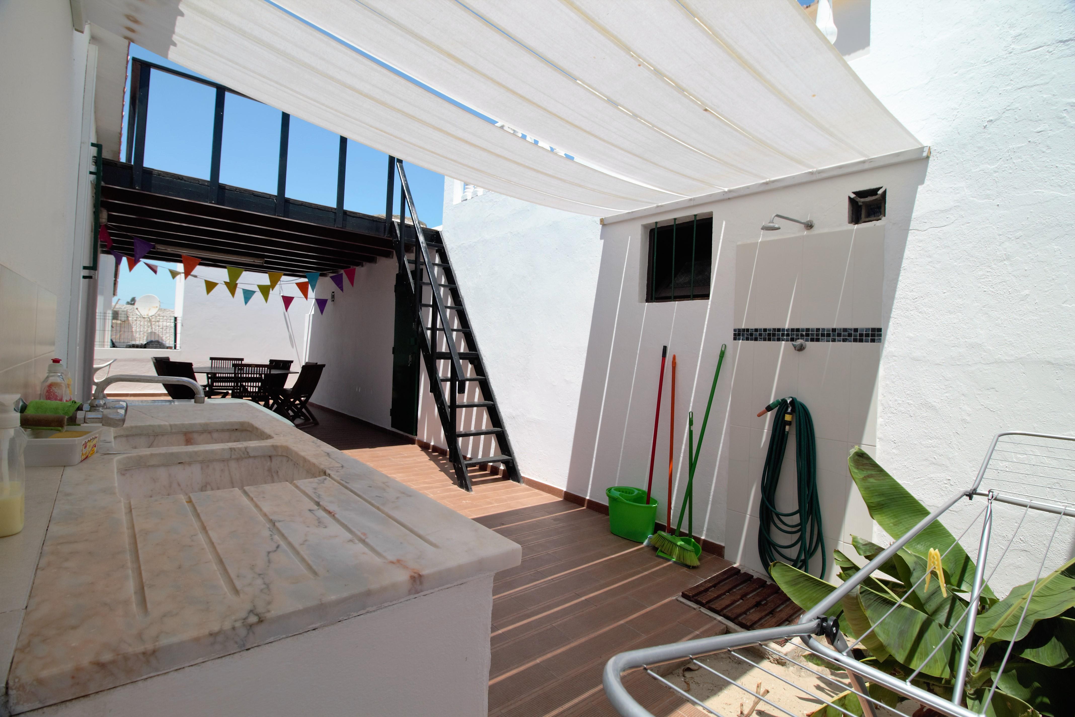 Holiday apartments and villas for rent, Moradia no Algarve com vista mar 10 mint da praia (a pé) in Olhão, Portugal Algarve, REF_IMG_6691_6705