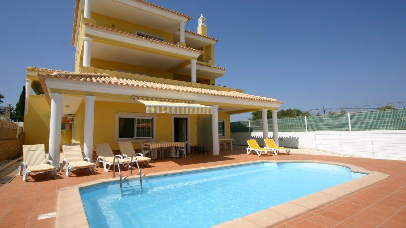 Holiday apartments and villas for rent, T2 ch. villa vista mar piscina in Olhão, Portugal Algarve, REF_IMG_6462_6463