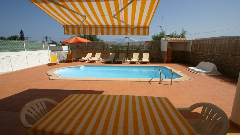 Holiday apartments and villas for rent, T2 ch. villa vista mar piscina in Olhão, Portugal Algarve, REF_IMG_6462_6469