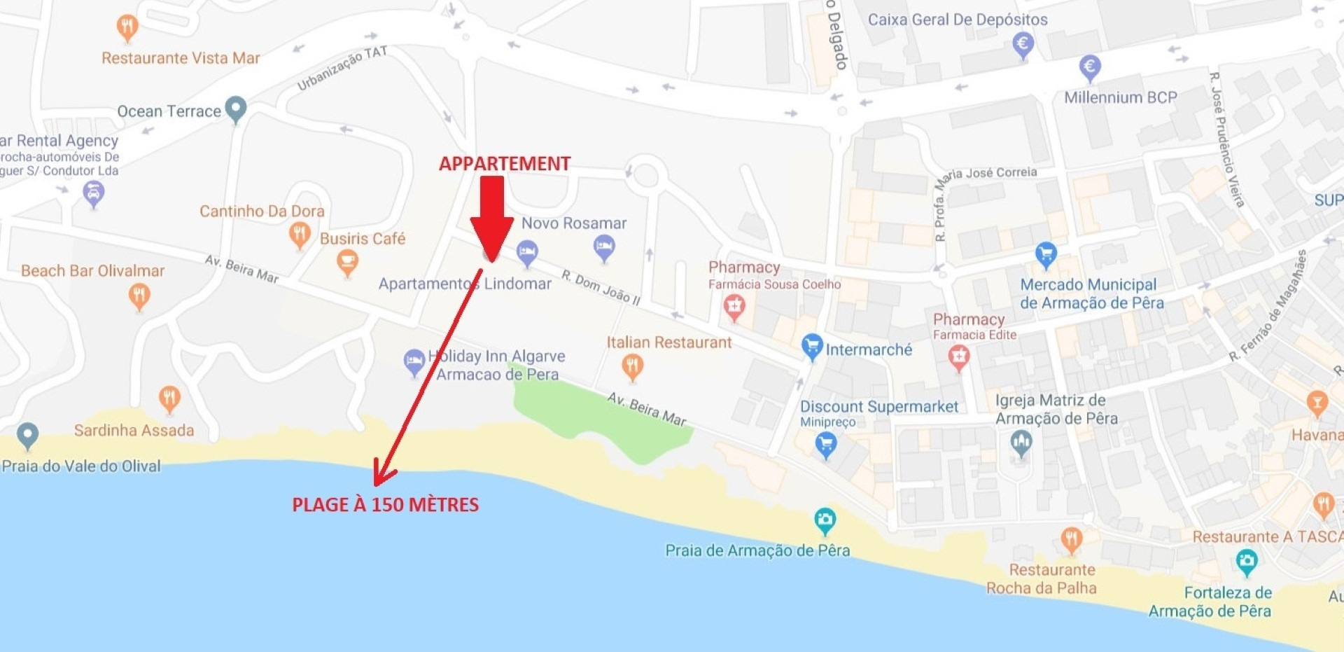 Location appartements et villas de vacance, Appartement en face de la plage – Armação-de-Pêra à Armação de Pêra, Portugal Algarve, REF_IMG_6809_8747