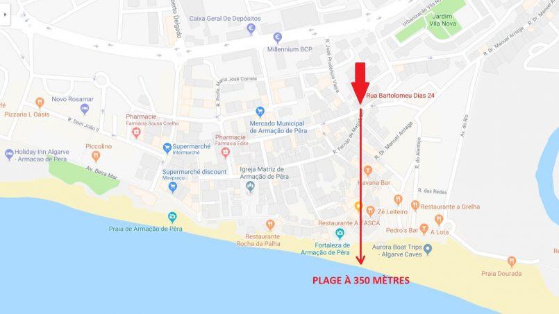 Location appartements et villas de vacance, Appartement 350m de la plage – Armação-de-Pêra à Armação de Pêra, Portugal Algarve, REF_IMG_6867_8702
