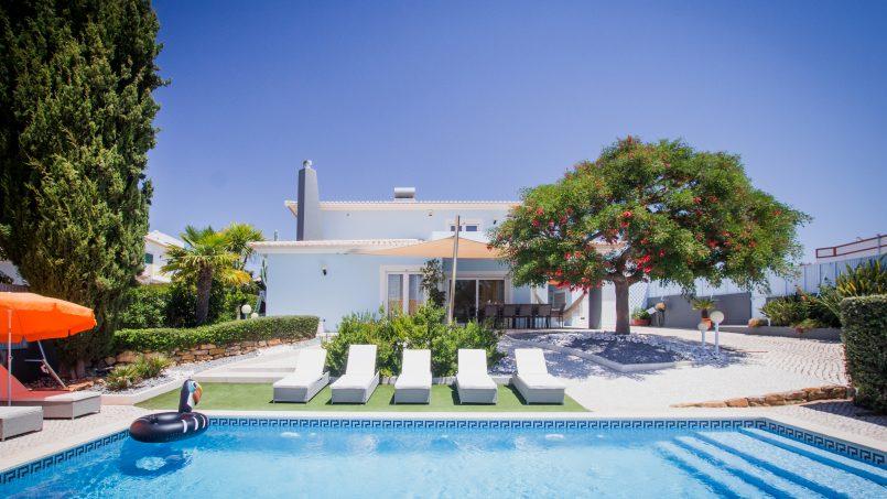 Apartamentos e moradias para alugar, UltraSpacious Villa, pvt swimming-pool, near center of Lagos em Lagos, Portugal Algarve, REF_IMG_11649_11673