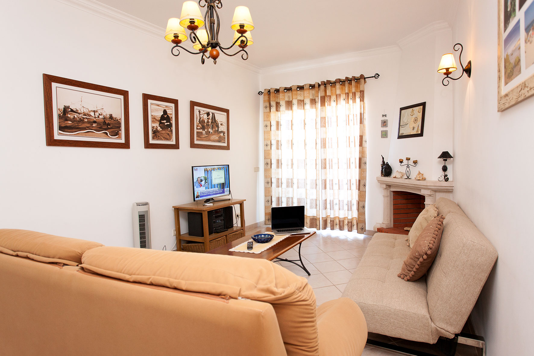 Holiday apartments and villas for rent, Apartamento T2 em Condomínio Com Piscina na Praia da Galé em Albufeira in Albufeira, Portugal Algarve, REF_IMG_6121_12084