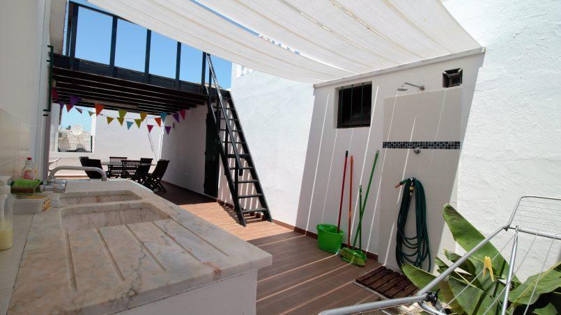 Location appartements et villas de vacance, Villa vue s/mer 10 mnt. de la plage à pied à Olhão, Portugal Algarve, REF_IMG_9894_13609