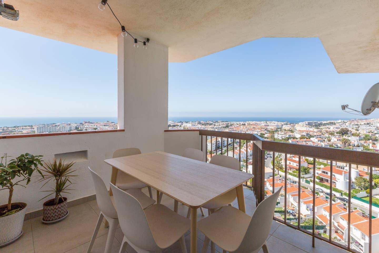 Apartamentos e moradias para alugar, 180° Sea views, Pool, 2 bedrooms and 2 balconies em Albufeira, Portugal Algarve, REF_IMG_13320_13410