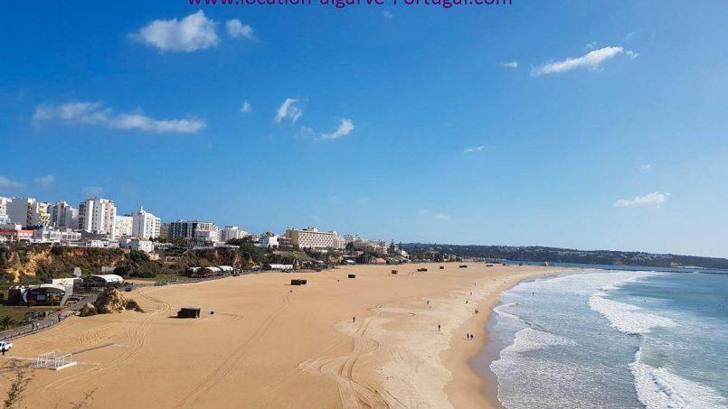 Location appartements et villas de vacance, Appartement en 1ère ligne vur sur mer à Portimão, Portugal Algarve, REF_IMG_14891_14902