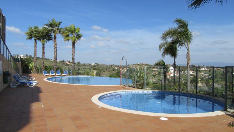 Location appartements et villas de vacance, Appartement 2 chambres dans luxueux condominio avec vue mer à Lagos, Portugal Algarve, REF_IMG_13988_13989