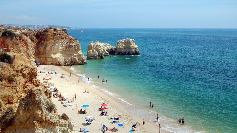 Apartamentos e moradias para alugar, T1 na Praia da Rocha para férias em Portimão, Portugal Algarve, REF_IMG_14431_14453