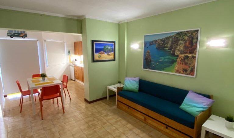 Apartamentos e moradias para alugar, T1 na Praia da Rocha para férias em Portimão, Portugal Algarve, REF_IMG_14431_14433