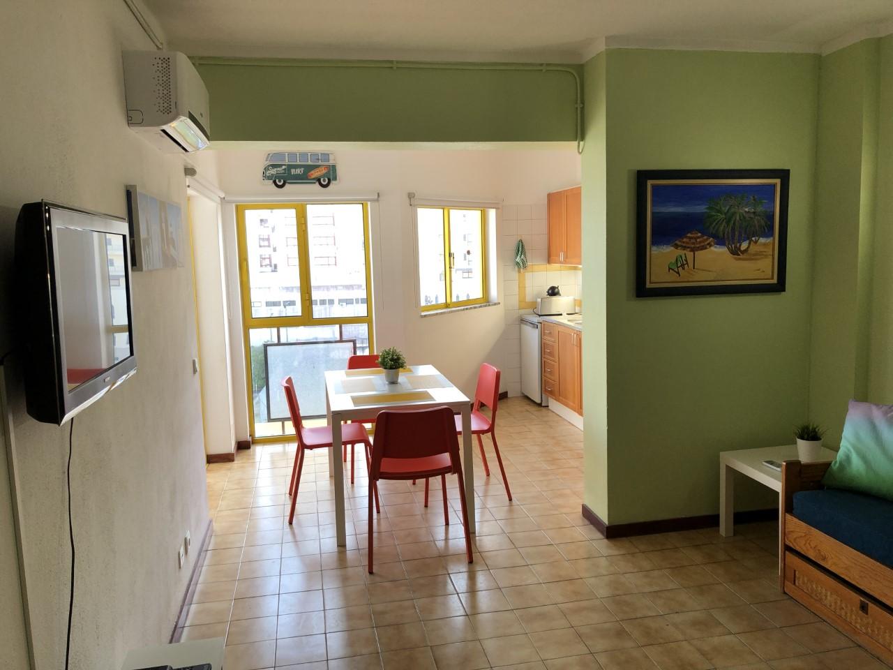 Holiday apartments and villas for rent, T1 na Praia da Rocha para férias in Portimão, Portugal Algarve, REF_IMG_14431_14435