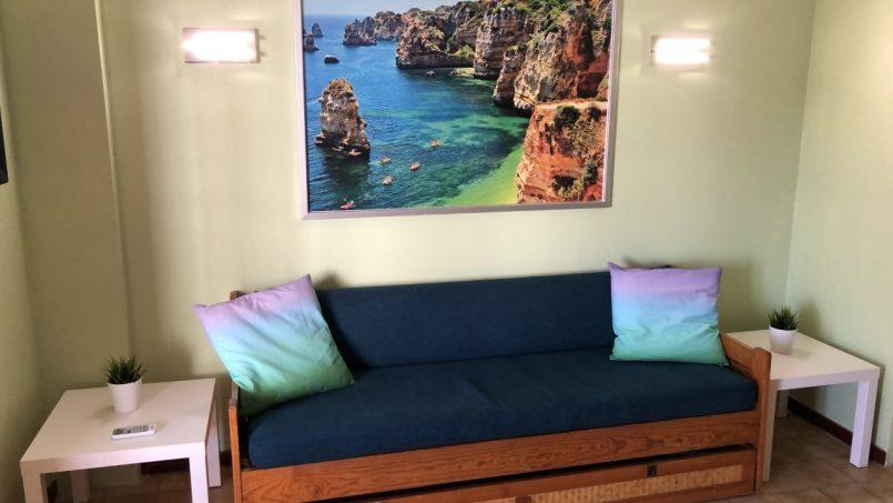 Apartamentos e moradias para alugar, T1 na Praia da Rocha para férias em Portimão, Portugal Algarve, REF_IMG_14431_14436