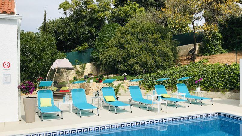 Location appartements et villas de vacance, Villa Sunkiss Algarve à Carvoeiro, Lagoa, Portugal Algarve, REF_IMG_16435_16436