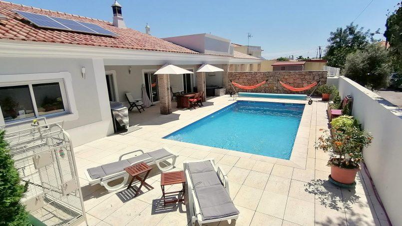 Location appartements et villas de vacance, VILLA PRIVEE ENTIERE CAPACITE 8/10 AVEC PISCINE PRIVEE à São Bras de Alportel, Portugal Algarve, REF_IMG_17447_18420